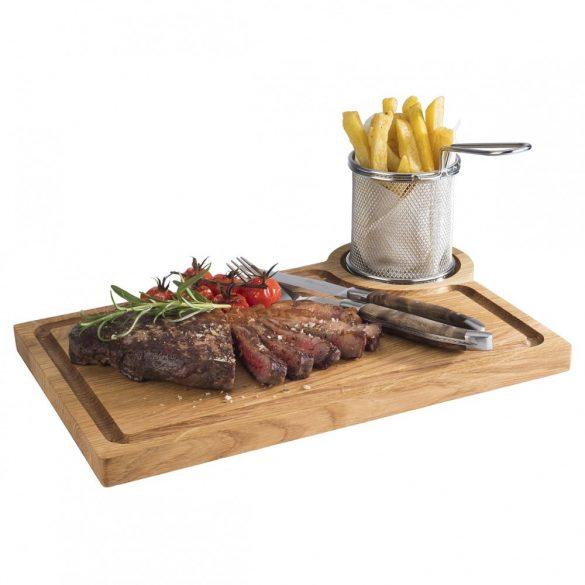 Platou sevire Steak 37x25cm