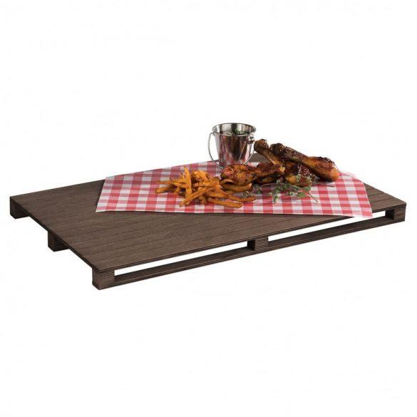 Platou de servire din lemn 53x32.5cm