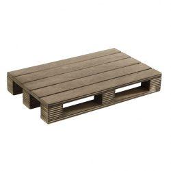 Platou de servire din lemn 20x12cm