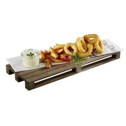 Platou de servire din lemn 40x15cm