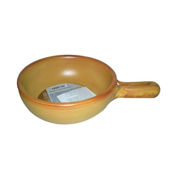 Vas ceramica termo 15 cm tabac,  1 maner, De Silva
