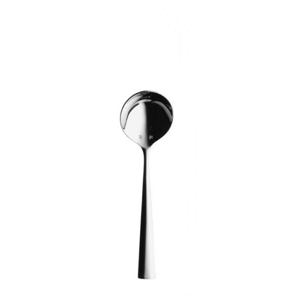 Lingura rotunda supa 18/10, 17.6 cm, Hepp, linia Accent