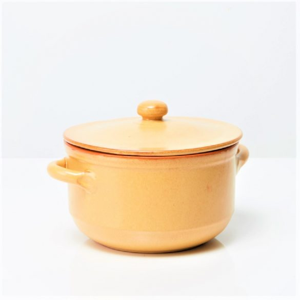 Oala ceramica termo tabac 24 cm, 2 manere, De Silva