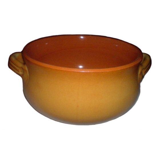 Oala ceramica termo tabac 20 cm, 2 manere, De Silva
