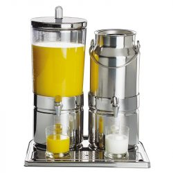 Dispenser suc si lapte 6+5l Top Fresh