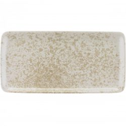 Platou rectangular 30cm linia Sandstone Beige