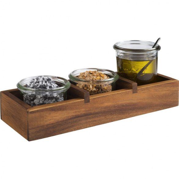 Cutie lemn pentru masa Table