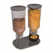 Dispenser dublu cereala 2x4.5l