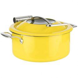 Chafing Dish  pe inductie 4l galben