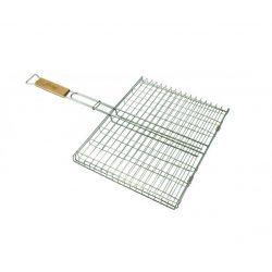 Grill pliabil pentru gratar 32,5x23cm