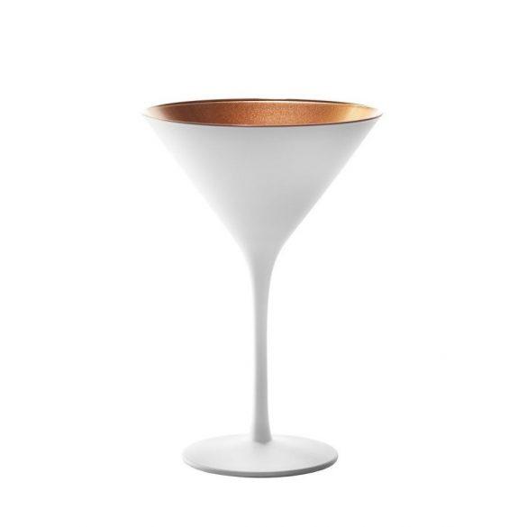 Pahar Martini Alb mat Bronz 240ml Stolzle