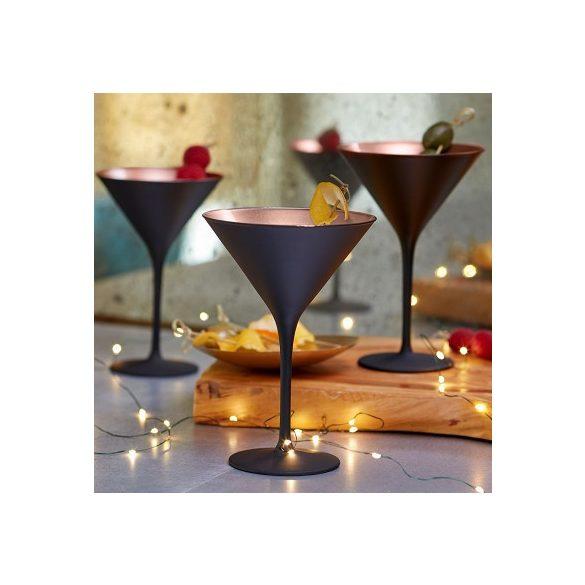 Pahar Martini Negru mat Bronz 240ml Stolzle