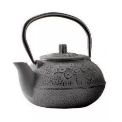 Ceainic fonta cu infuzor 600ml gri