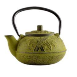 Ceainic fonta cu infuzor 600ml verde