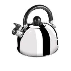 Ceainic inox cu fluier 3l