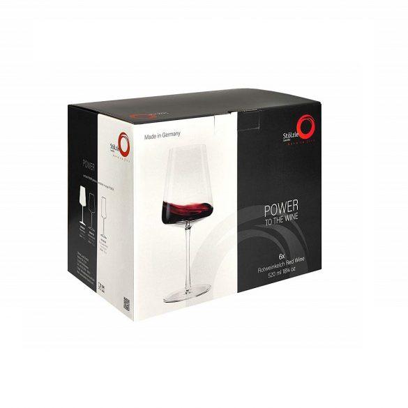 Pahar vin rosu 520ml Stolzle linia Power