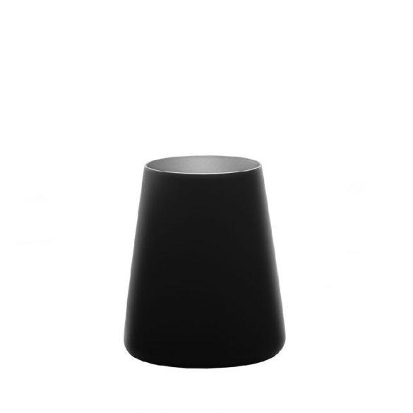Pahar tumbler 380ml Stolzle Power negru mat argintiu