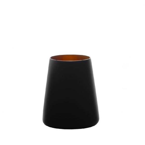 Pahar tumbler 380ml Stolzle Power negru mat bronz
