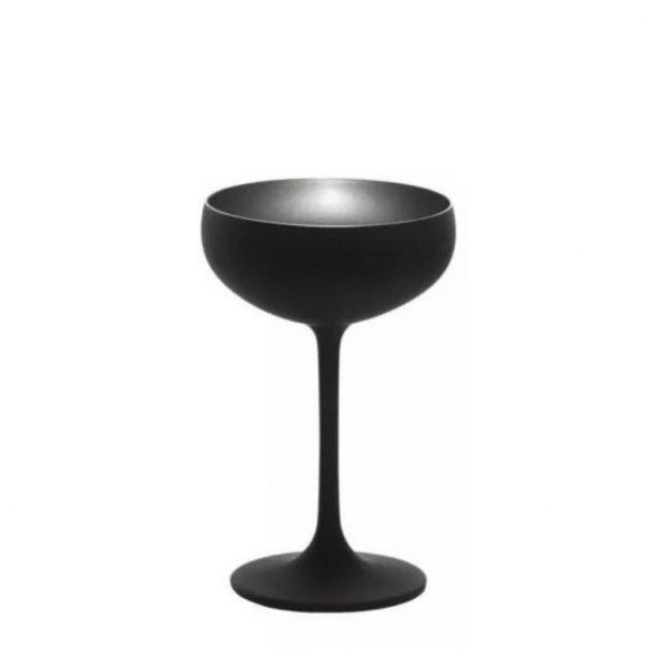 Cupa sampanie 230ml Stolzle Olympic Negru (mat) Argintiu