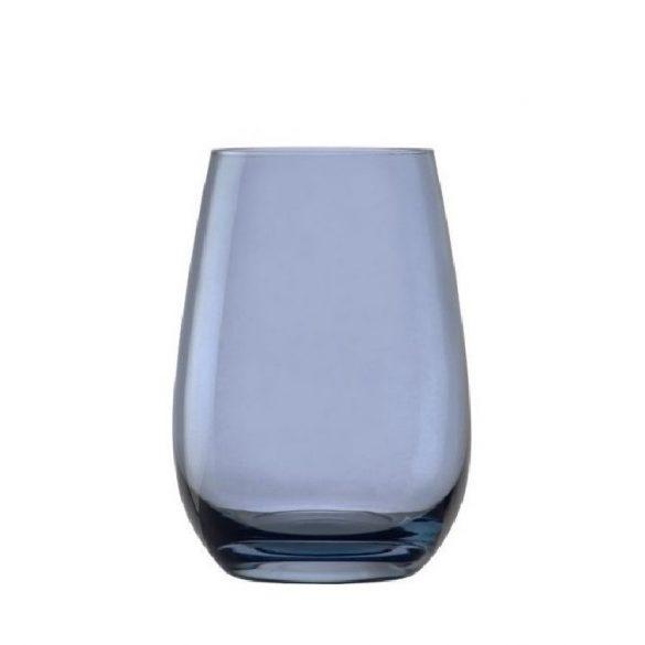 Pahar oblic, fara picior, culoare Albastru deschis, 465 ml, Stolzle, linia Elements