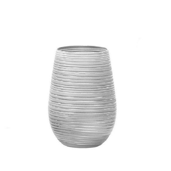 Pahar oblic 465ml Stolzle Twister alb argintiu