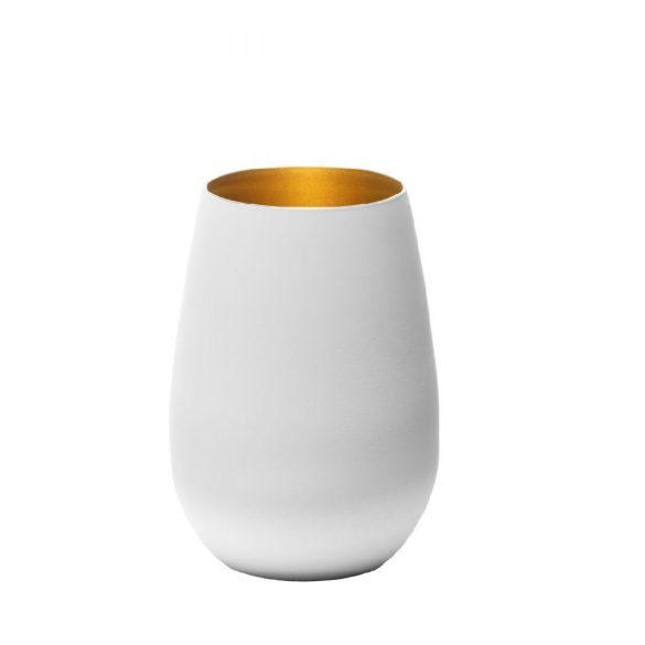 Pahar Stolzle Olympic culoare Alb (mat) Auriu 465 ml