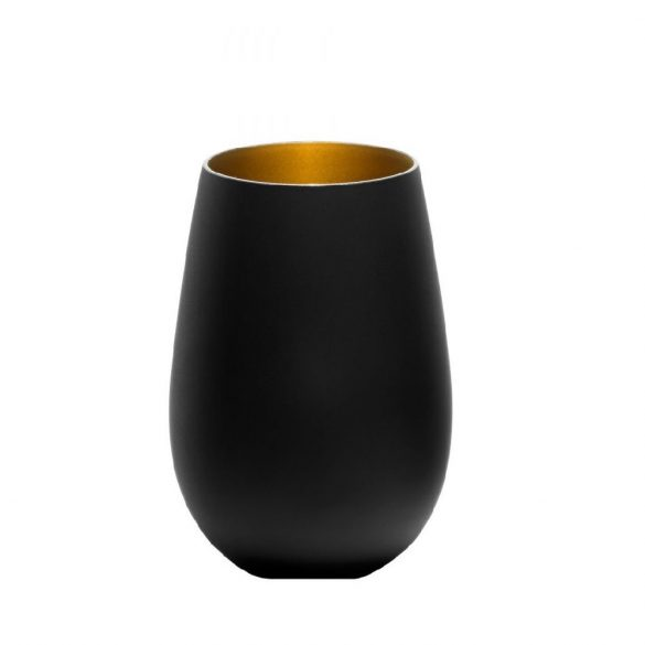Pahar Stolzle Olympic culoare Negru (mat) Auriu 465 ml