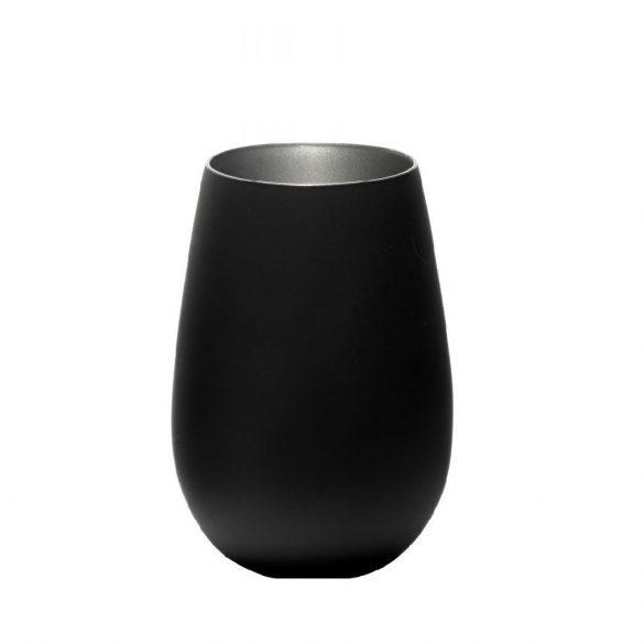 Pahar Stolzle Olympic culoare Negru (mat) Argintiu 465 ml