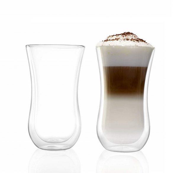 Pahar cu perete dublu Stolzle Coffee'n More, 330 ml, marime XL
