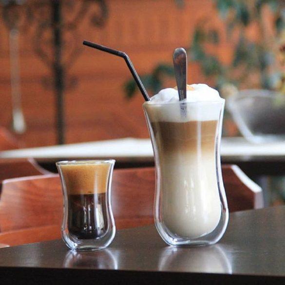 Pahar cu perete dublu Stolzle Coffee'n More, 90 ml, marime S