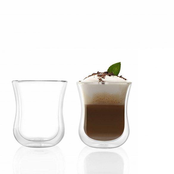 Pahar cu perete dublu Stolzle Coffee'n More, 180 ml, marime M