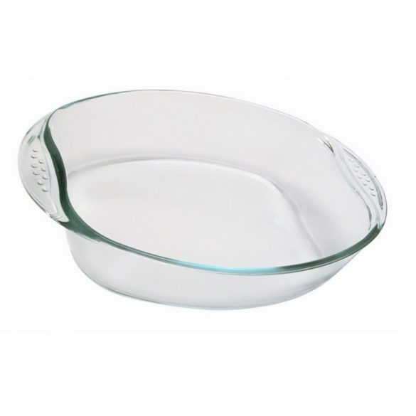 Vas termorezistent oval Pyrex 30x21cm