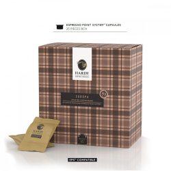 Cafea premium Europa Blend, Hardy Caffe, 25 capsule FAP