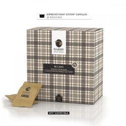Cafea premium Milano Blend, Hardy Caffe, 25 capsule FAP
