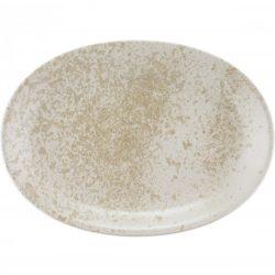 Platou oval 32cm linia Sandstone Beige