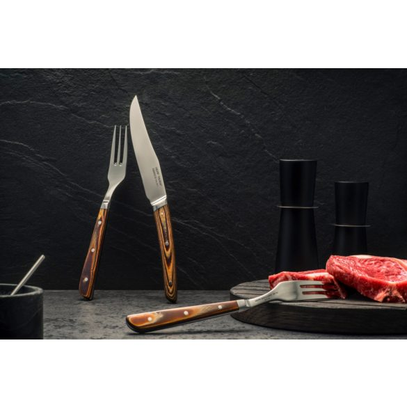 Furculita Steak Inox 21.5cm Hepp linia Taurus