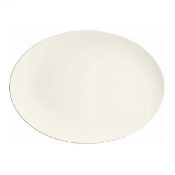 Platou oval 33cm linia Purity Coup Bauscher