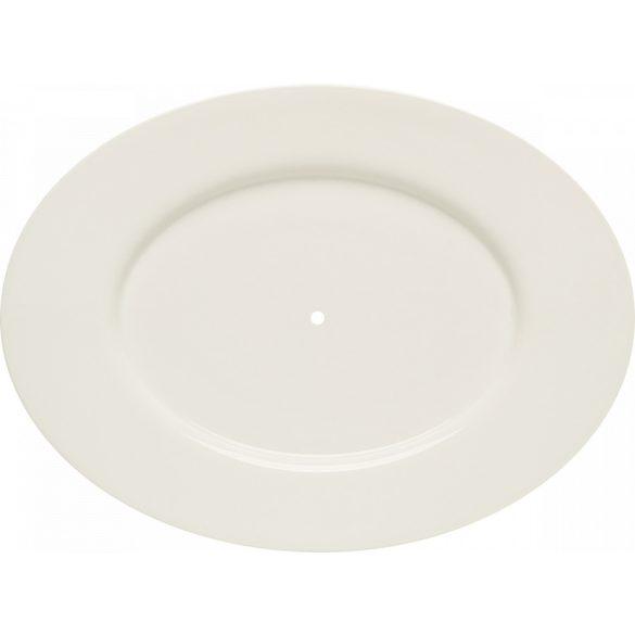 Farfurie ovala pentru suport prajituri 24 cm, linia Purity Classic, Bauscher