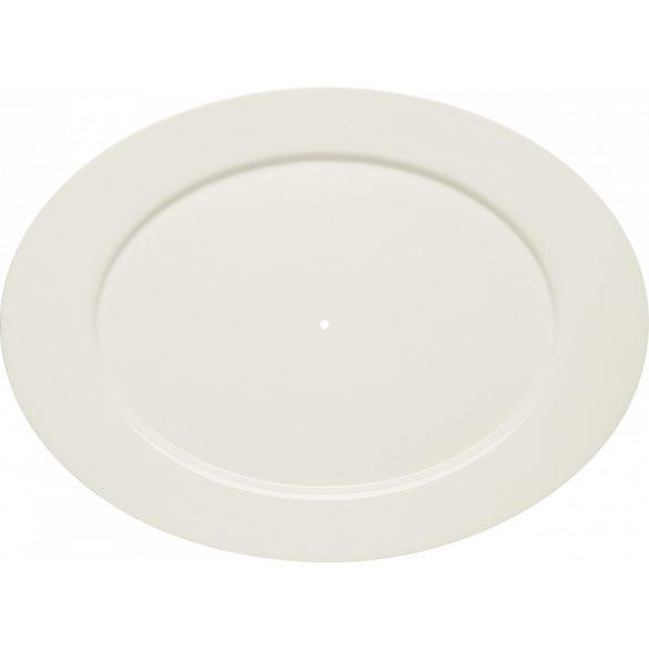 Farfurie ovala pentru suport prajituri 38 cm, linia Purity Classic, Bauscher