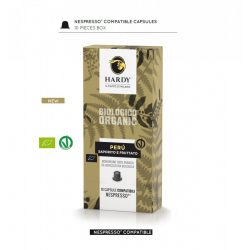 Cafea premium Peru Organic, Hardy Caffe, 10 capsule Nespresso
