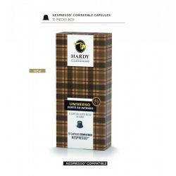 Cafea premium Universo Blend, Hardy Caffe, 10 capsule Nespresso