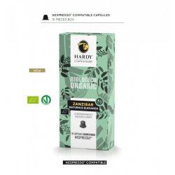 Cafea premium Zanzibar Organic, Hardy Caffe, 10 capsule Nespresso