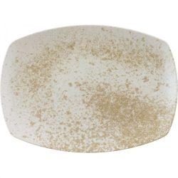 Platou rectangular 32cm linia Sandstone Beige