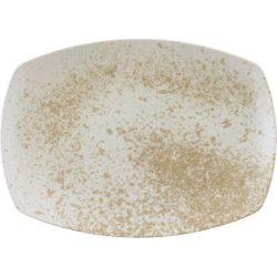 Platou rectangular 36cm linia Sandstone Beige