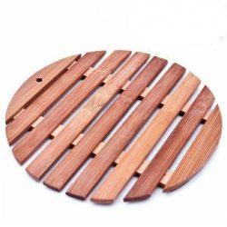 Suport vase din lemn rotund