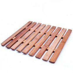 Suport vase din lemn dreptunghiular