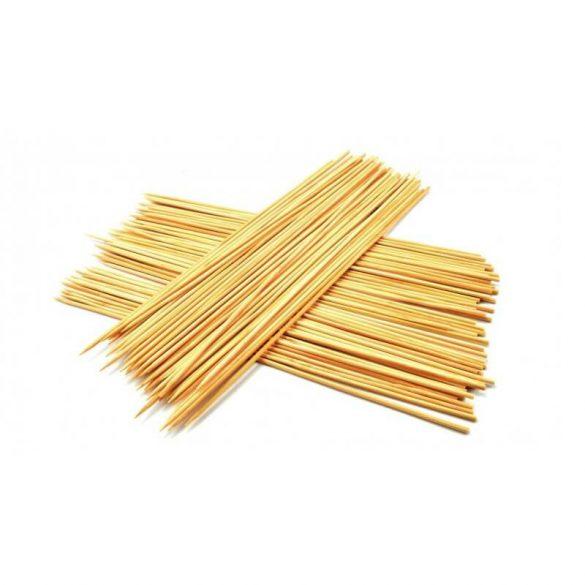 Set 80 de bete din lemn pentru frigarui 30cm