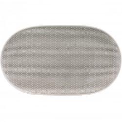 Platou oval  23cm linia Scope Gray