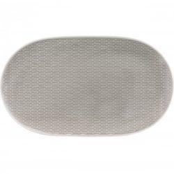 Platou oval 32cm linia Scope Gray