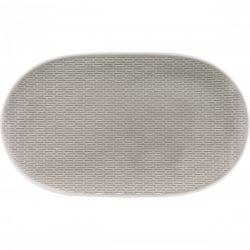 Platou oval 37cm linia Scope Gray